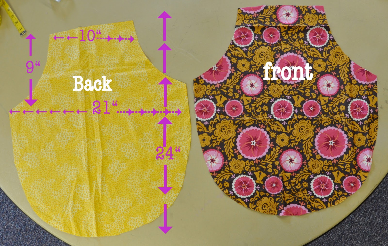 Easy Apron Pattern Interesting Decorating