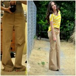 Make loose pants fitted