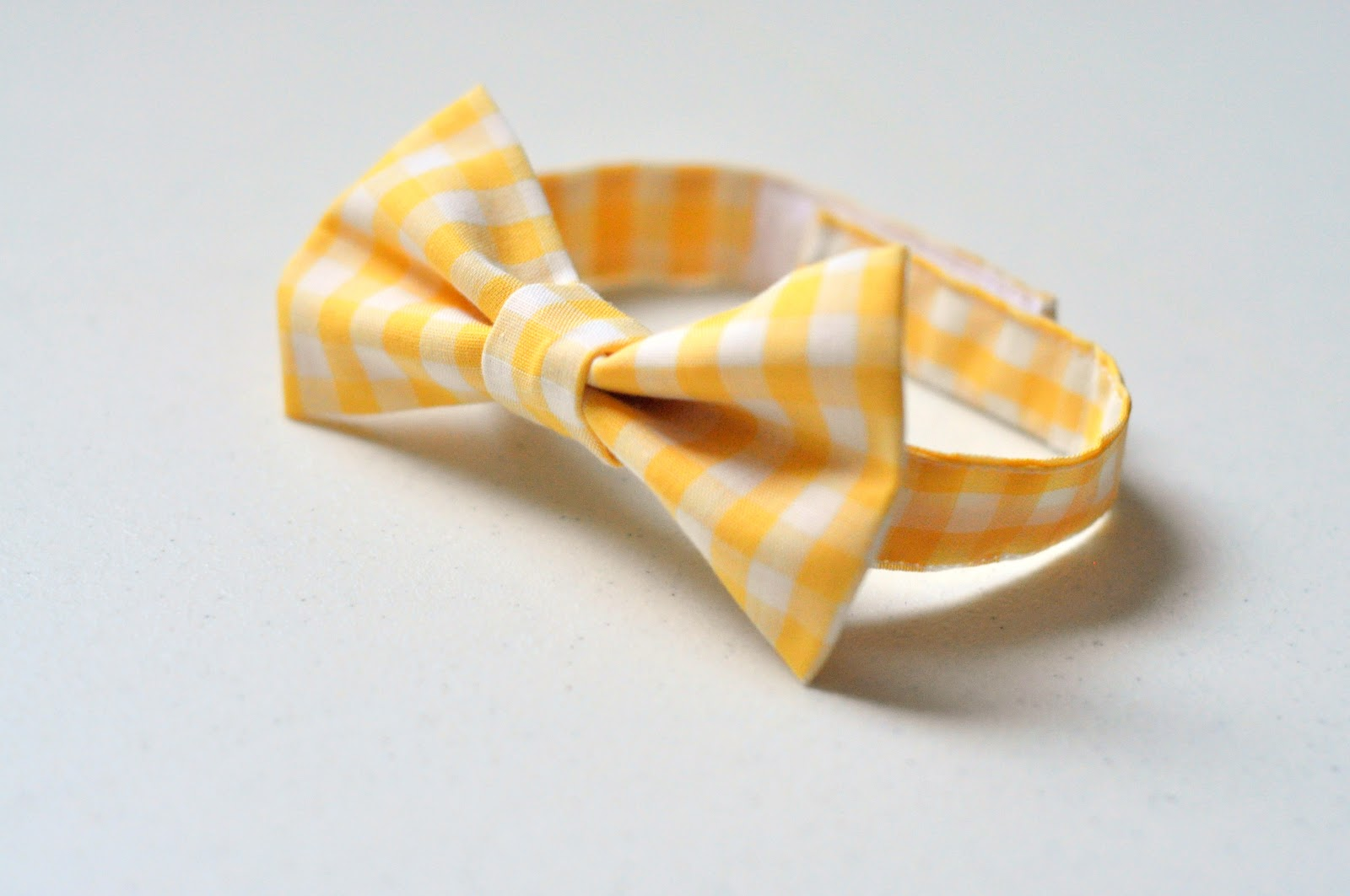 the velcro bow tie tutorial