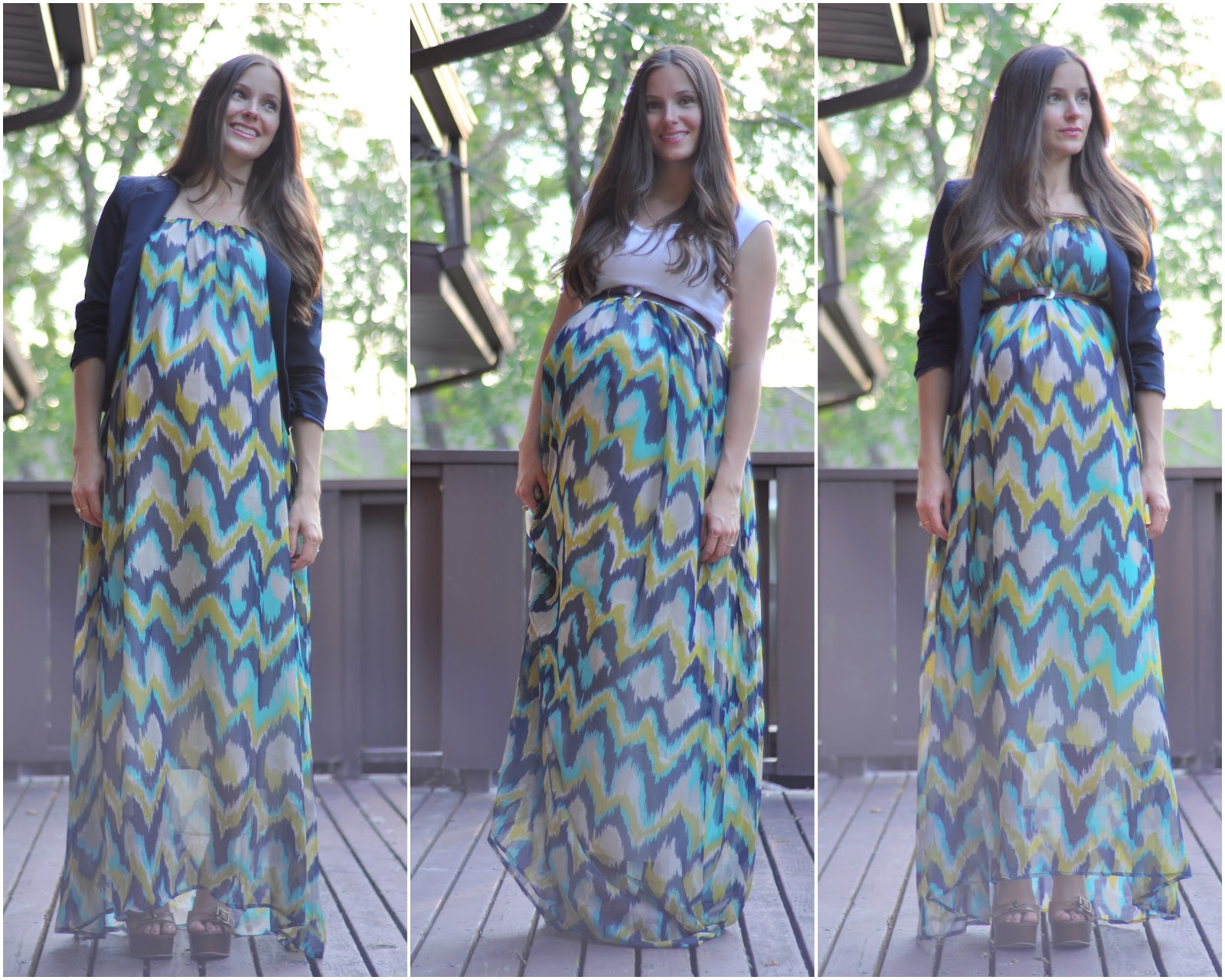 How to sew a maxi dress with straps