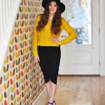 The 4 step – draped tulip wrap skirt tutorial