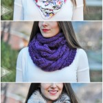DIY infinity or circle scarf tutorial (aka the snood)