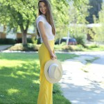 lower your waistband tutorial + wide leg pants love