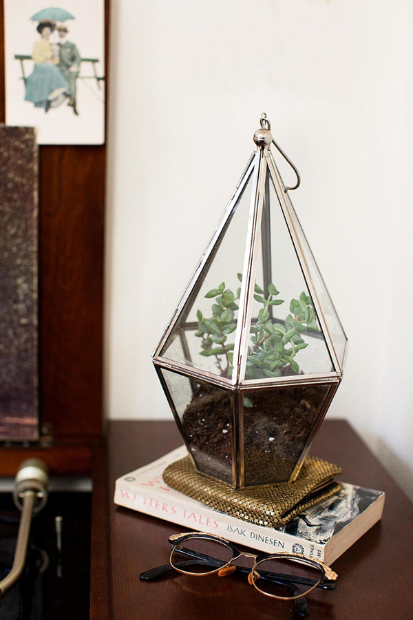 Geometric Terrariums For The Home