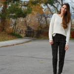 DIY trousers, in plaid!