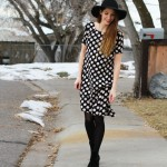 very easy DIY swing dress refashion tutorial