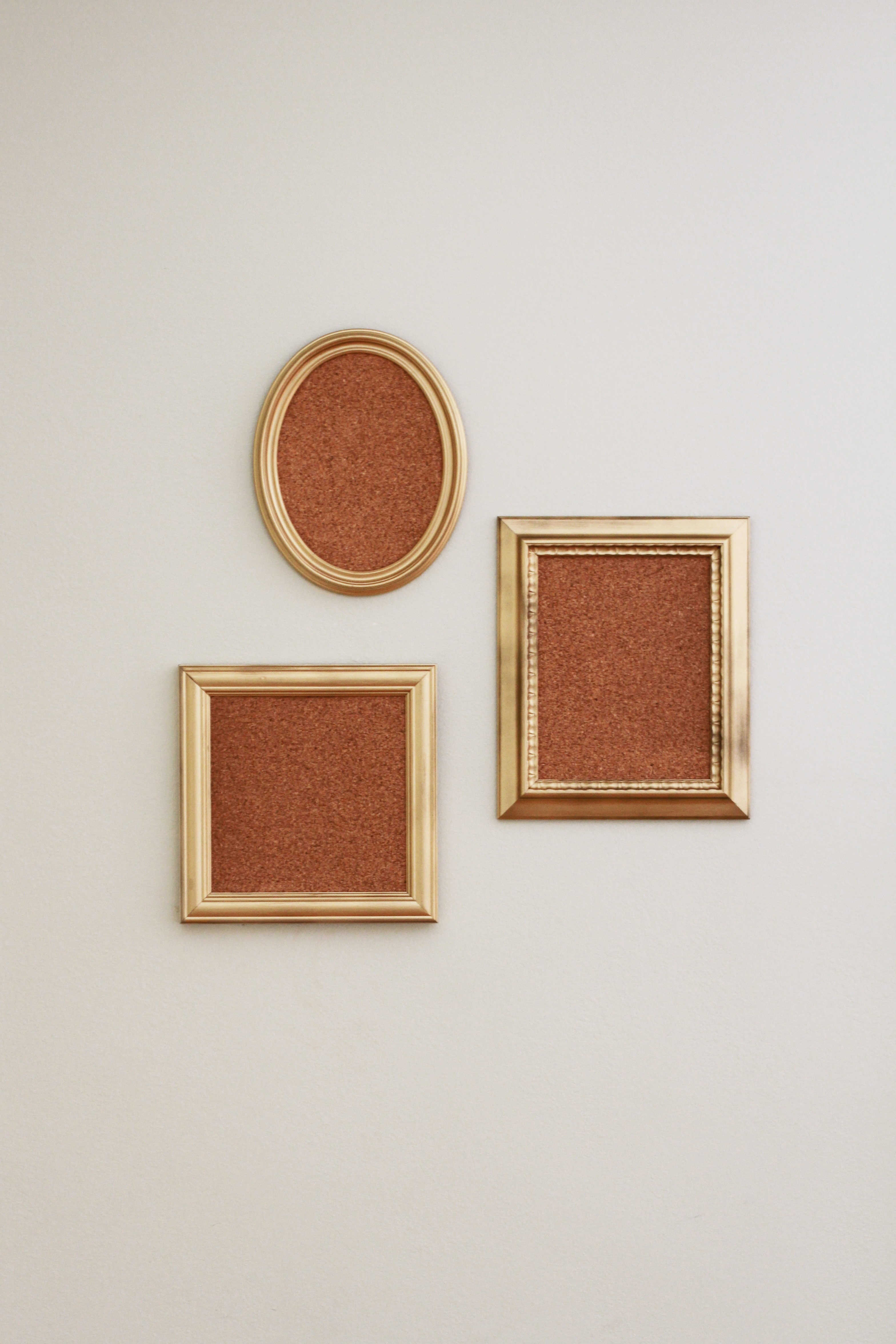 Diy mini framed cork boards for Diy cork board