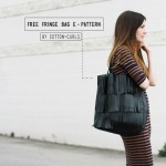 Free downloadable fringe bag E-Pattern